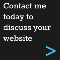 contact me today to discuss your website