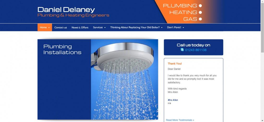 Daniel Delaney Website