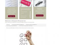 Enterprise Personnel Ltd Website