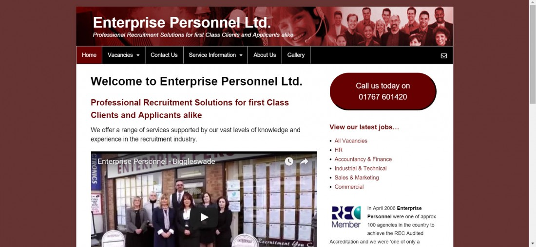Enterprise Personnel - Website