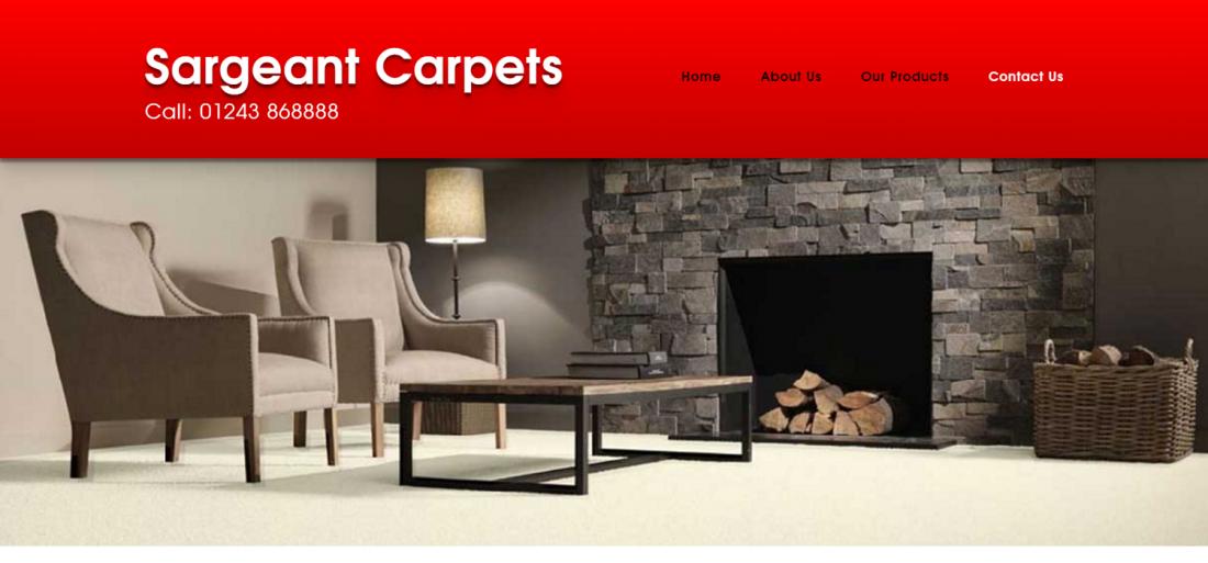 Sargeant Carpets Website