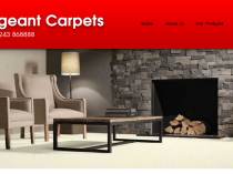 Sargeant Carpets Website